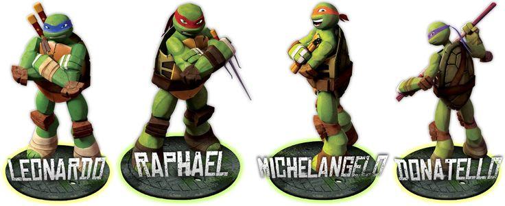 Ninja Turtles Names