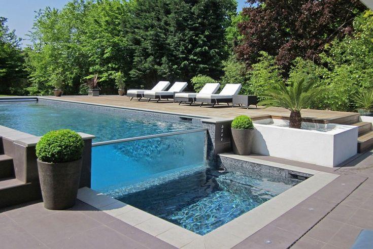 Les 24 meilleures images propos de piscine parois de for Bassin a debordement