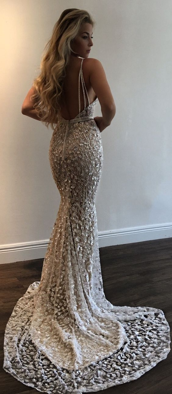 2e0d316855d4 luxury silver mermaid prom dresses with beading sexy backless long prom  party dresses  dressywomen  longpromdresses  mermaiddresses  sexypromdresses
