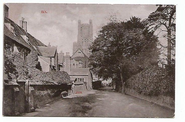 england Cambridgeshire postcard english ely village | eBay