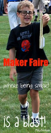 Maker Faire Detroit 2012 ... a wonderful family event. TINKER. HACK. INVENT. MAKE.