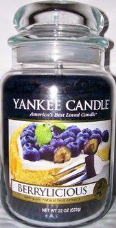 "USA YANKEE CANDLE FALL  2014 ""Berrylicious"""