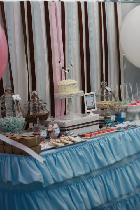 EAT DRINK PRETTY: Real party: a lovely ice cream parlor birthday