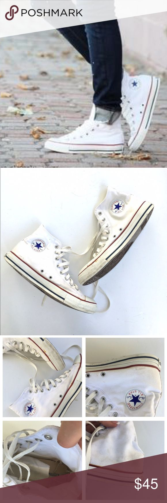 1000 ideas about white converse shoes on