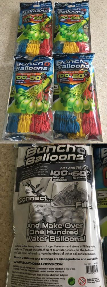 Balls and Balloons 145987: Buncho Balloons Huge Lot 10 Packs 1000 Water Balloons! Retail 130.00 -> BUY IT NOW ONLY: $50 on eBay!
