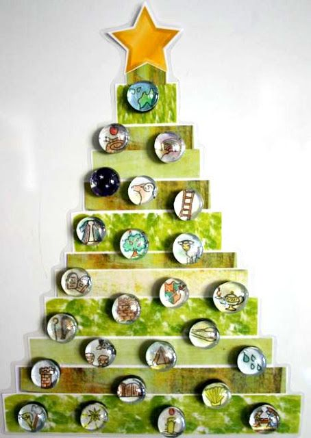 Papemelroti Gifts Decorative Accessories Philippines Christmas Craft Session Jesse Tree Printables Kit Filipinas