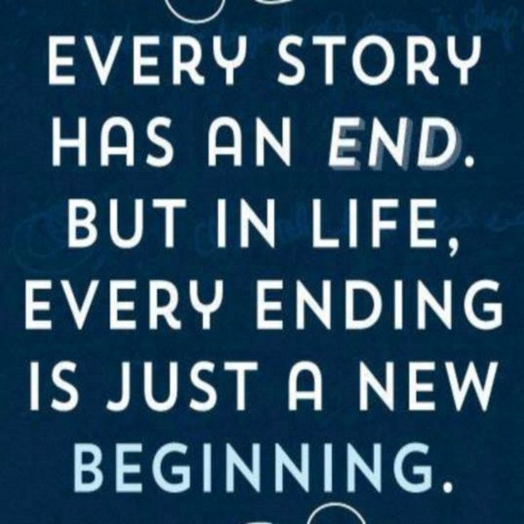 Every Story Has An End But In Life Every Ending Is Just: 190 Best Life Quotes Images On Pinterest