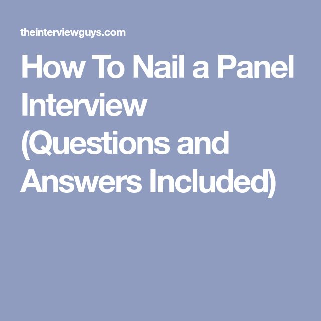 The 25+ best Interview nails ideas on Pinterest Job interviews - resume questions