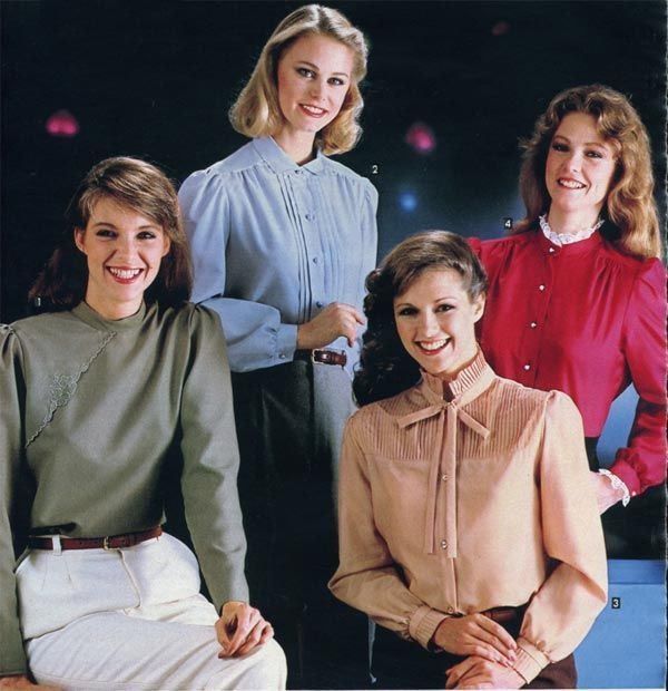 80s vintage fashion trends you love to remember or wear!
