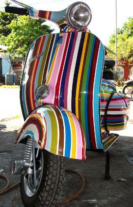 Vespa 150cc (VBB)   Bene Asai Classic Vespa Shop - Bali