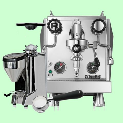 Rocket Espresso Giotto Evoluzione R.Handmade in Milan, Italy from the craftsmen at Rocket Espresso Milano. Experience the best in home espresso machines and quickly become a home barista! #Custom #Drawing #Modern #Nespresso #Smeg cliffandpebble.com
