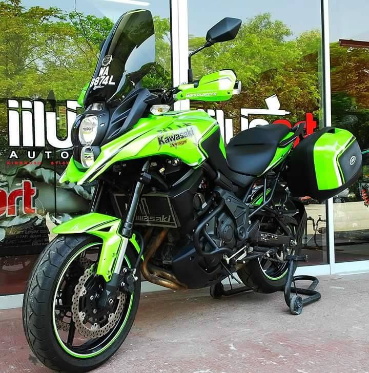 Kawasaki Versys 650 Green Monster