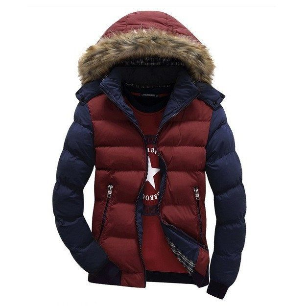 Arctic Faux Fur Hooded Parka Jacket (4 colors)
