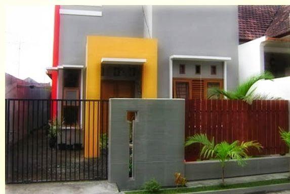 Minimalist House Fence Design   Desain Pagar Rumah Minimalis