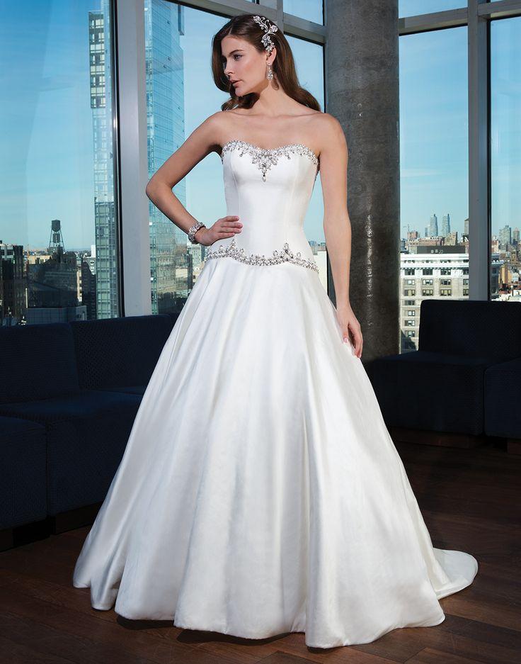 Justin alexander signature wedding dresses style 9748 silk for Wedding dress trim beading