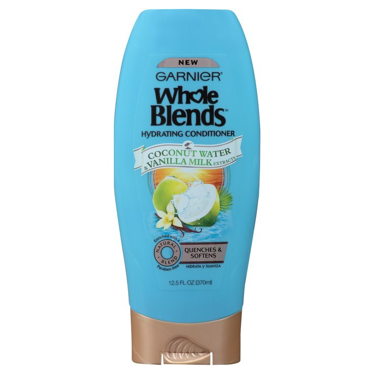 Garnier Whole Blends Coconut Water & Vanilla Milk Extracts Hydrating Conditioner - 12.5oz