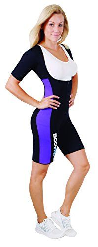 Body SPA Light Body Sauna Suit Neoprene Full Body Shaper GYM Sport Aerobic 13832 Purple 3XL ** You can find out more details at the link of the image.