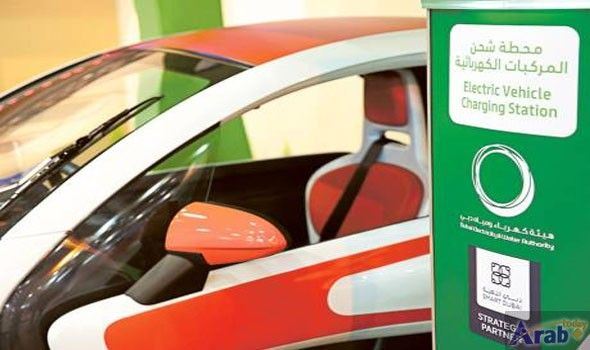 Dewa to double e-vehicle charging stations to…