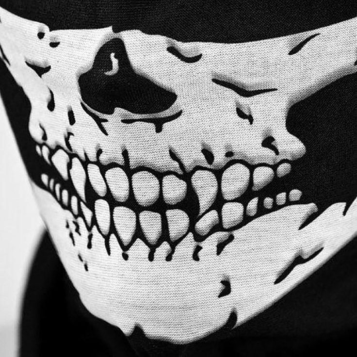 Make an impression with our skull face mask is lightweight and breathable. Made from high quality nylon, it's strong and durable. Hurry and get yours today! FRE