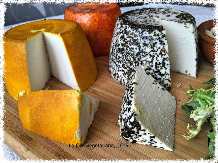 Tabla de quesos veganos