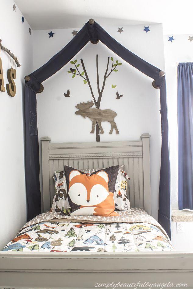 Woodland Letti Per Bambini.Simply Beautiful By Angela Woodland Big Boy Room Kidsroomideas