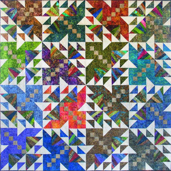 Intermediate Quilting Patterns : Thunderbirds Quilt Pattern BCC-214 (intermediate, lap and throw) Quilts Pinterest Quilt ...
