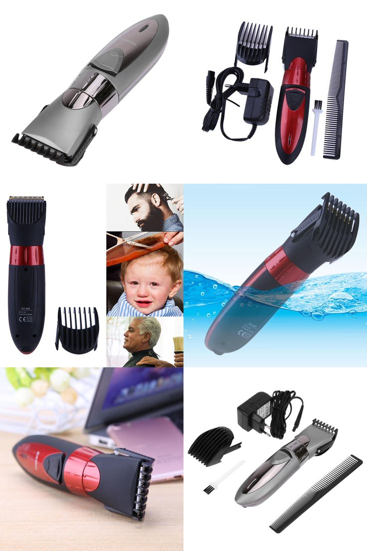 [Visit to Buy] Hair cutting beard trimmer maquina de cortar o cabelo Waterproof Electric kids Charging Haircut Machine Hair Clippers Trimmer  #Advertisement