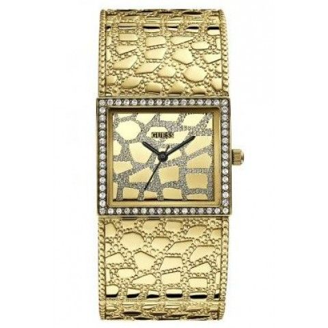 Guess Croco Luxe Gold Ladies Watch