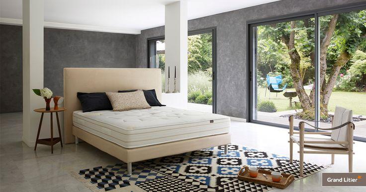 Les 39 meilleures images du tableau chambres de r ve literies grand lit - Matelas grand litier ...
