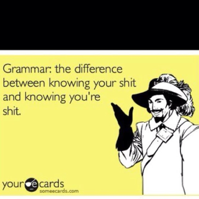 grammar: the difference between