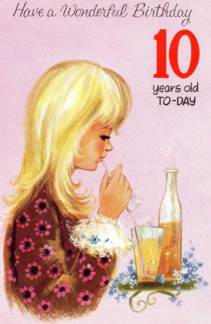 555 Best Vintage Cards Birthday Images On Pinterest Vintage