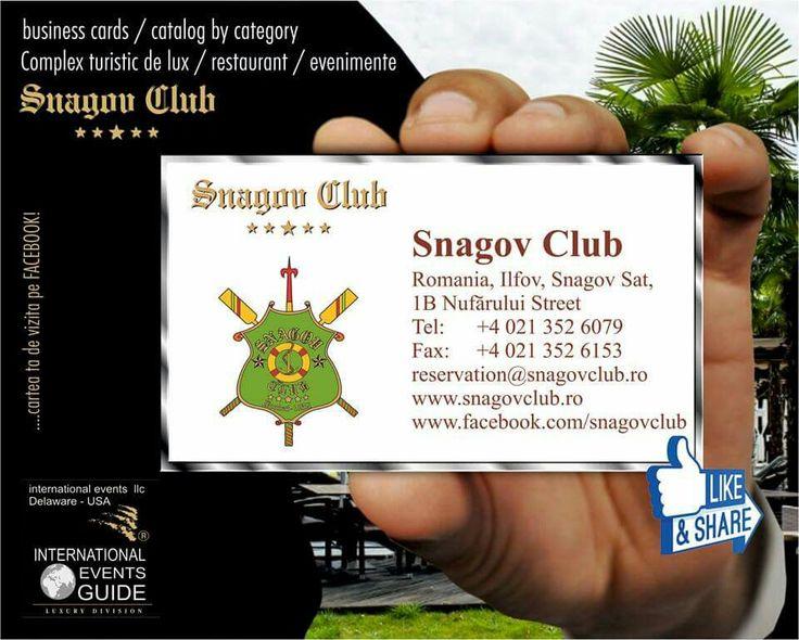LUXURY HOTEL SNAGOV - BUCHAREST - ROMANIA