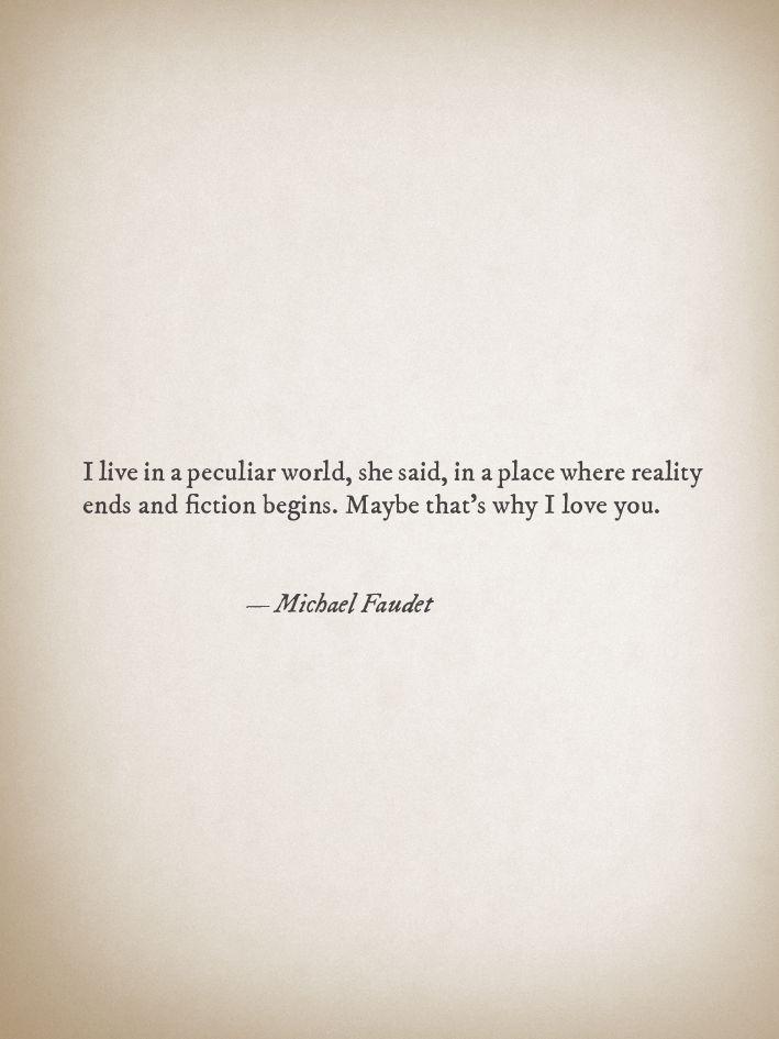 poem by Michael Faudet