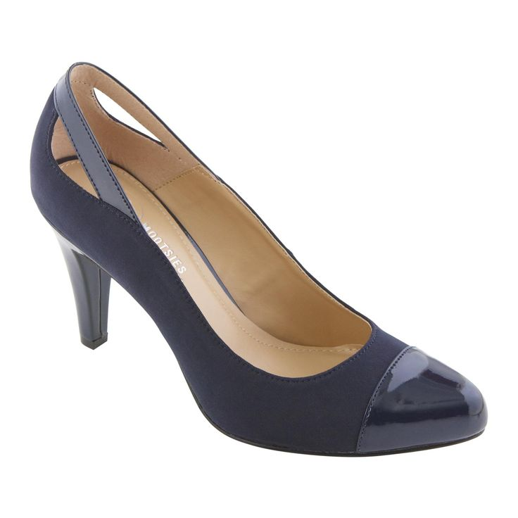 Mootsies Tootsies Women S Dress Pump Sherburt Navy