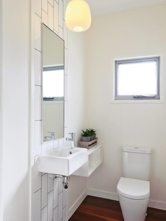Banheiro Simples E Pequeno Imagem 44 Bath Design Modern Bathroom
