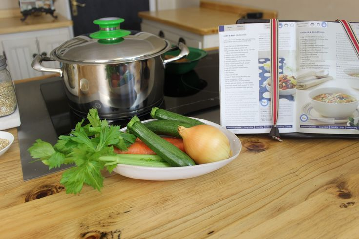 Ready to make a batch of soup for a chilly day with this AMC 24 cm High.