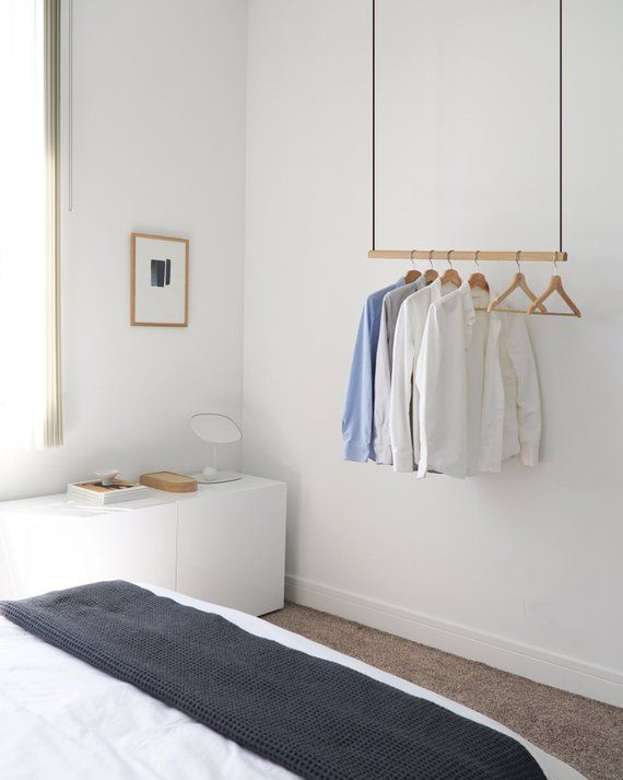 Airjust Solo Hanging Cloth Rack Ceiling Mounted Hight Adjustable Stainless Steel Width From 80 Cm Clothes Rack Design Hanging Clothes Racks Clothing Rack