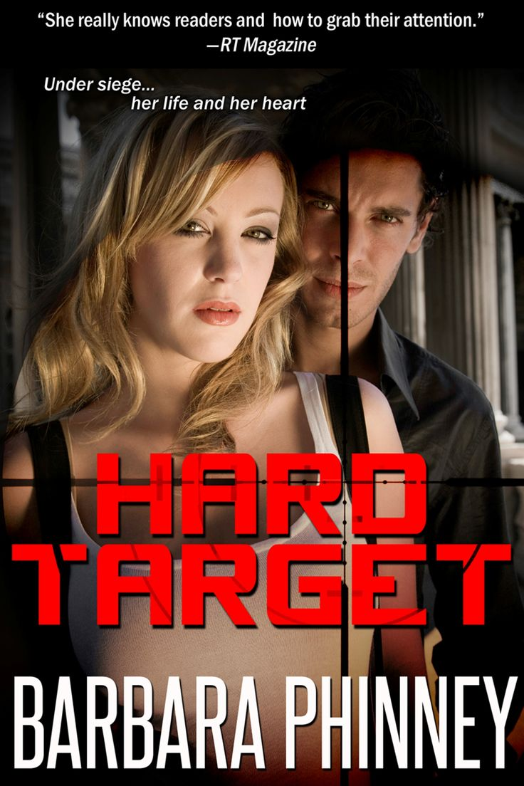 A new cover and some promo. Hard Target is available on Amazon and Barnes and Noble.