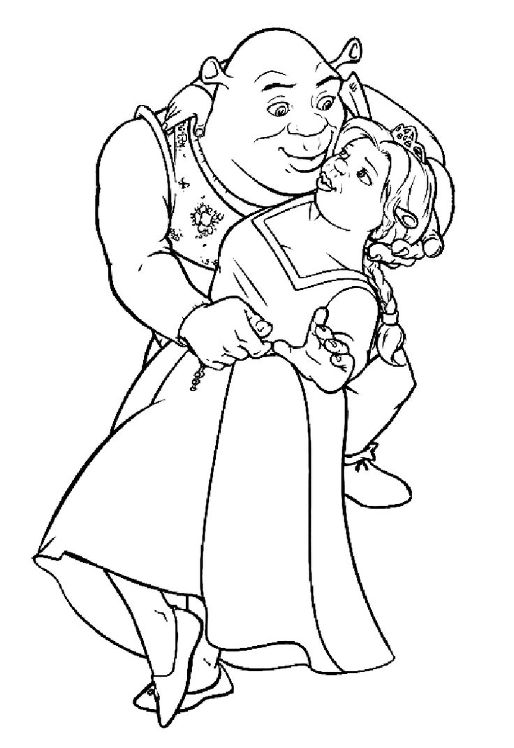 Princess anastasia coloring pages - Shrek Coloring Pages Coloring Pages Shrek Coloring Pages 2 Shrek Coloring Pages