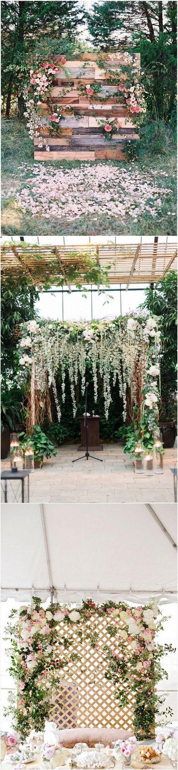 Flower wall wedding backdrops for 2018 #wedding #weddingideas #weddingdecor