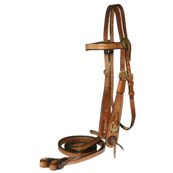 FORT WORTH CLASSIC WESTERN WORK BRIDLE WITH REINS  Classic styled western bridle for work or competition. $89.95