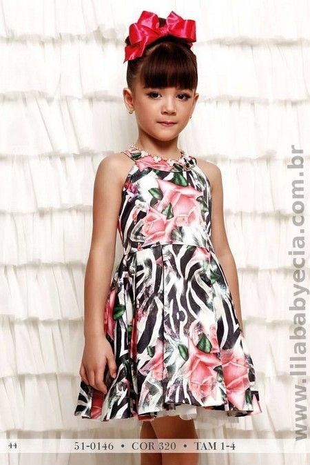 Vestido Infantil Miss Cake Doce Princesa 510146