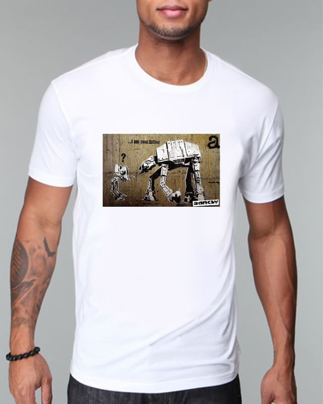 https://www.navdari.com/products-m00017-BanksyIAmYourFatherGraffitiStreetArTTSHIRT.html #Iamyourfather #yourfather #father #banksy #streetart #art #TSHIRT #CLOTHING #Men