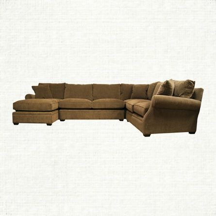 View The Landsbury 4 Piece Sectional From Arhaus. Landsbury Wraps Around  Your Space As Comfortably