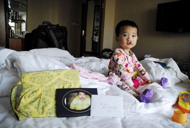 china adoption agency & packing/travel info