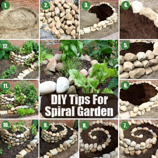 Doesn T Appear To Be A Potager But A Great Rooftop Design: 34 Best Herb Spiral Images On Pinterest