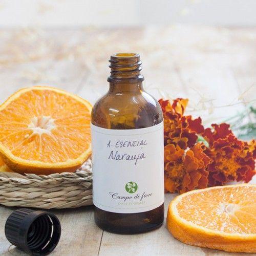 Aceite esencial de Naranja | Aceites esenciales para hacer jabones