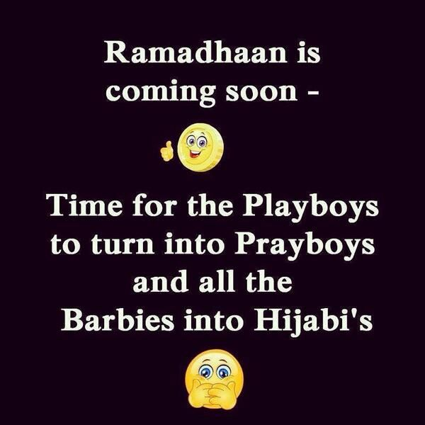 Twitter / FatihSeferagic: Lool, ramadhan is coming up ...