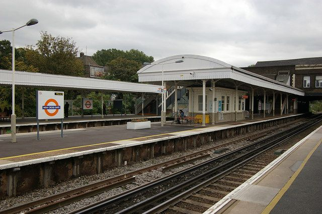 New Cross Gate Railway Station (NXG) in New Cross, Greater London