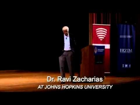 The Problem of Suffering and the Goodness of God - Ravi Zacharias at Johns Hopkins - YouTube